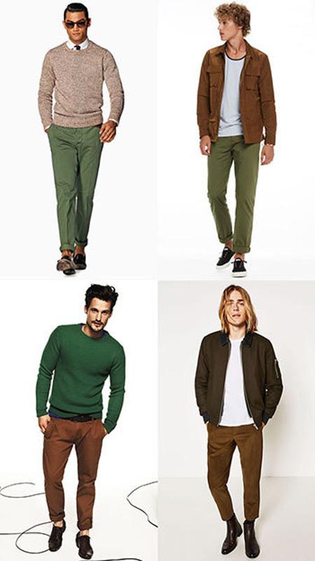 نکاتی برای پوشش آقایان, نکاتی برای انتخاب رنگ لباس برای آقایان