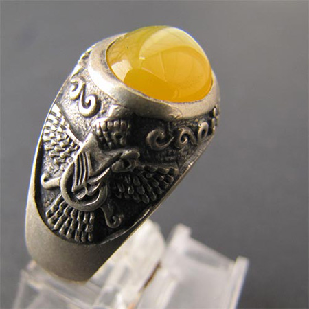 انگشتر شرف الشمس مردانه,انگشتر شرف الشمس