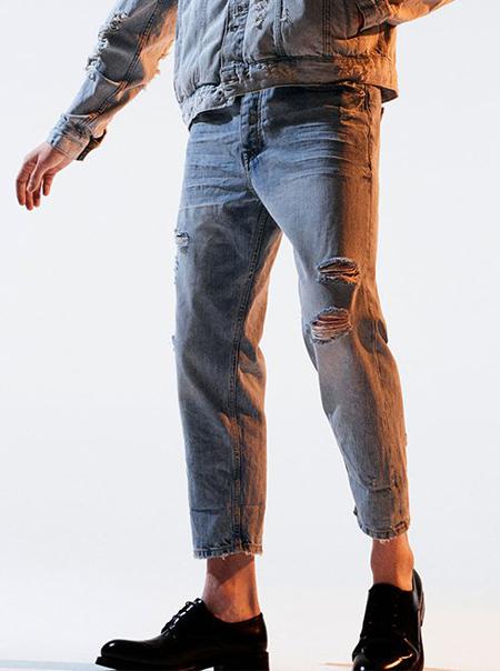 رنگ های شلوار جین مردانه, شلوار مردانه