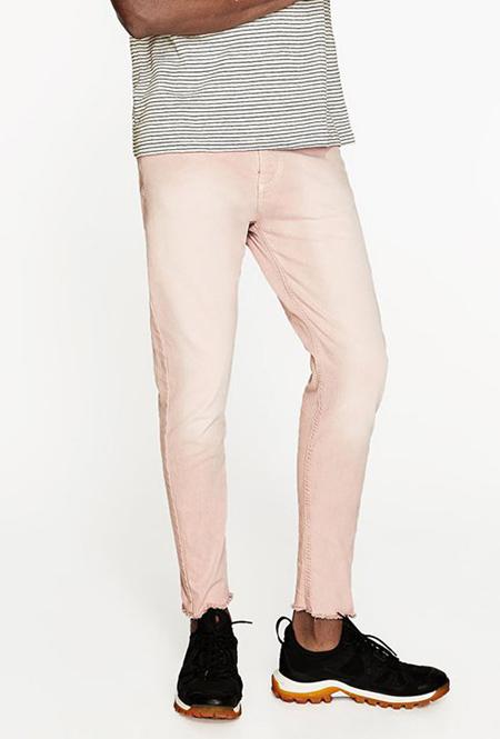 مدل شلوار جین مردانه, شلوار جین مردانه زارا