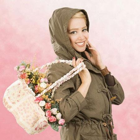عکس مدل مانتوهای الناز حبیبی,شیک ترین مانتوهای الناز حبیبی