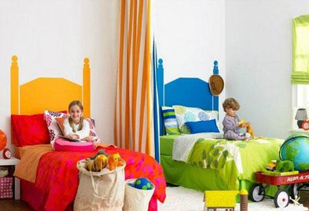اتاق خواب مشترک خواهر و برادر,نکاتی برای اتاق خواب مشترک خواهر و برادر