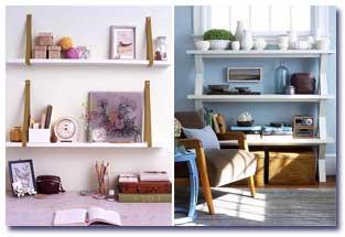 مدلهایی از قفسه های زیبا در دکوراسیون منزل!