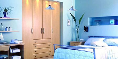 نکاتی برای انتخاب رنگ اتاق خواب,روانشناسی رنگ اتاق خواب