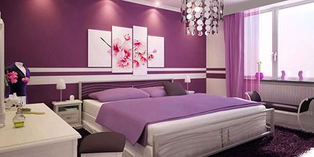 رنگ اتاق خواب,بهترین رنگ اتاق خواب