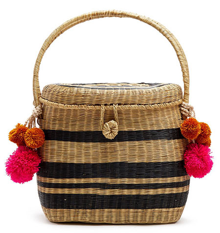 جدیدترین کیف های بافتنی و حصیری, طراحی کیف های حصیری