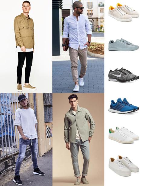 کفش لوفر مردانه,کفش کتانی مردانه