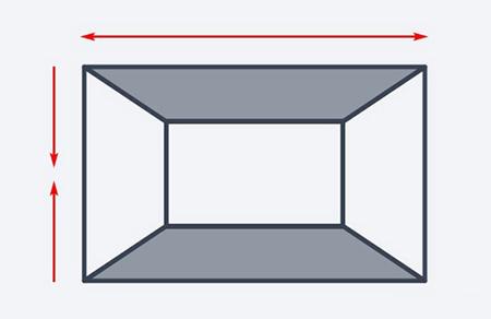 تکنیک های رنگ آمیزی اتاق های کوچک, بزرگ کردن فضای اتاق کوچک
