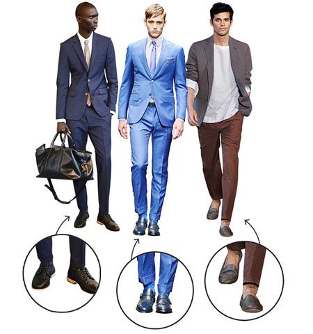 نکاتی برای پوشش آقایان,پوشش آقایان قد کوتاه