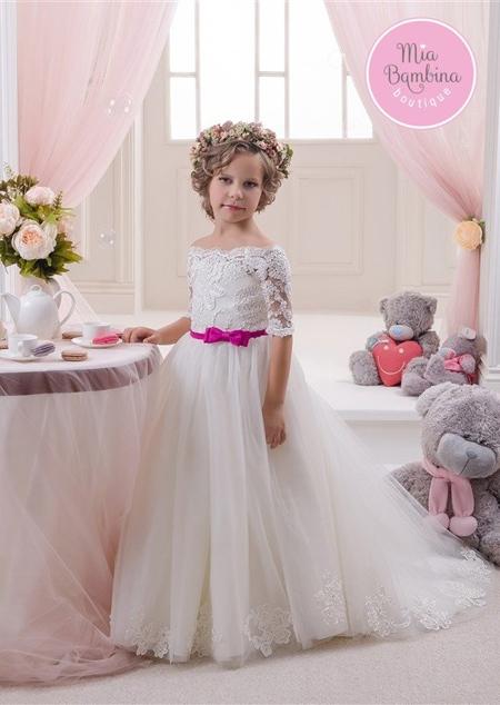 جدیدترین پیراهن های دخترانه,مدل پیراهن عروس بچه گانه