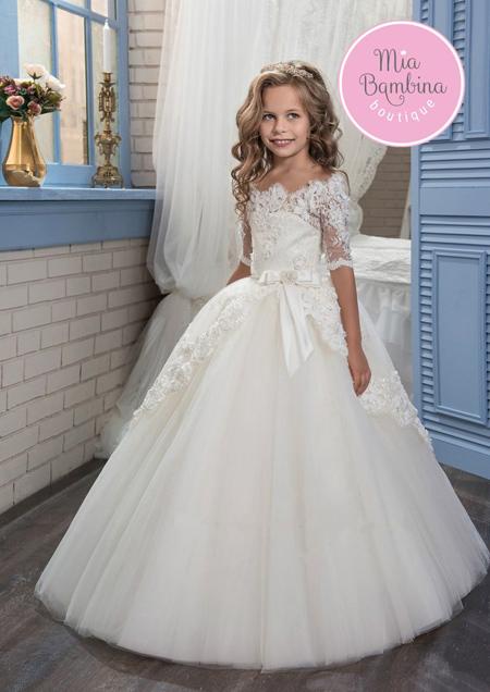 مدل لباس عروس دخترانه, مدل لباس پرنسسی دخترانه