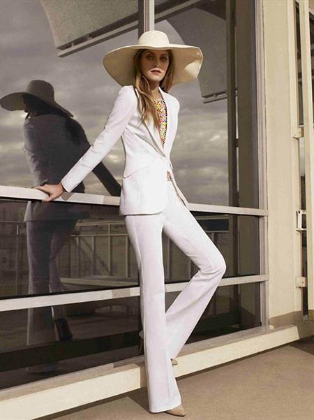 نکاتی برای پوشیدن شلوار سفید,ترفندهایی برای پوشیدن شلوار سفید