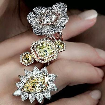 مدل انگشترهای جواهر,جدیدترین مدل انگشتر