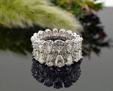 انگشترهای نامزدی جواهر, انگشترهای جواهر ساده و شیک