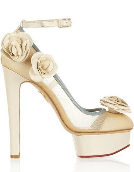 کفش عروس پاشنه کوتاه, کفش عروس شیک