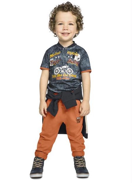 مدل لباس تابستانی پسر بچه ها, جدیدترین تیشرت و شلوار بچه گانه
