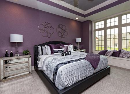روانشناسی رنگ ها, رنگ های اتاق خواب