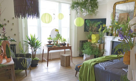 طراحی اتاق خواب با سبک های طبیعت,طراحی اتاق خواب کوهستانی