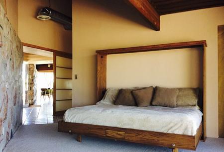 طراحی اتاق خواب با الهام از طبیعت,طراحی اتاق خواب خاکی