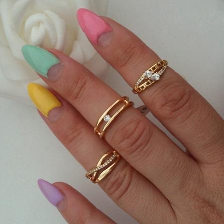 مدل انگشتر و گوشواره, مدل انگشتر و گوشواره طلا