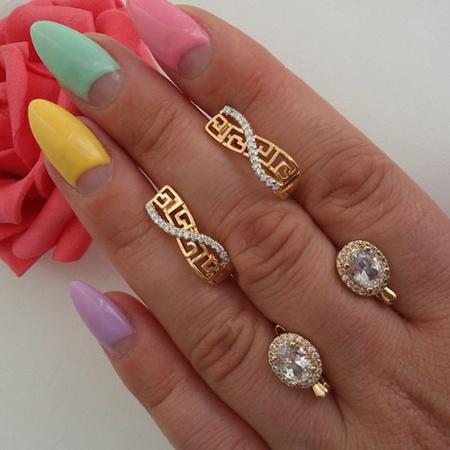 مدل گوشواره های نگین دار کوچک, شیک ترین مدل طلا و جواهرات