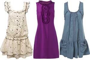 جدیدترین مدلهای پیراهنهای بدون آستین زنانه1389!