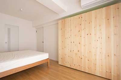 آپارتمانی با دیوارهای متحرک