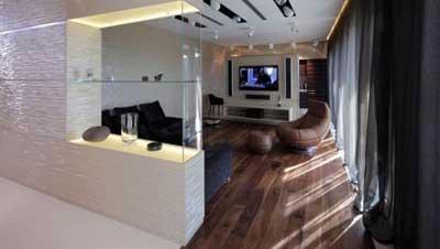 دکوراسیون داخلی پنت هاوس آپارتمان
