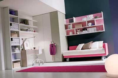 دکوراسیون اتاق خواب برای پسران و دختران جوان
