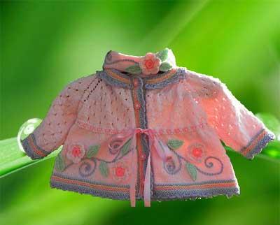 مدل لباس بافتنی بچگانه