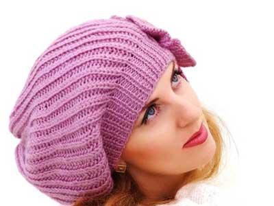شال و کلاه و دستکش زنانه