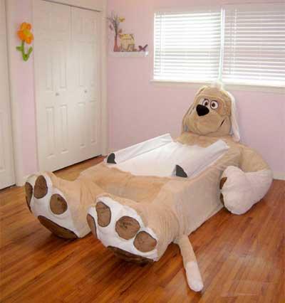 مدل های تخت کودک به شکل حیوانات