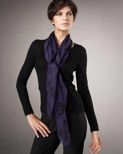 www.3tare.com | mo3382 مدل های جدید شال و دستمال گردن زنانه در بهمن 90