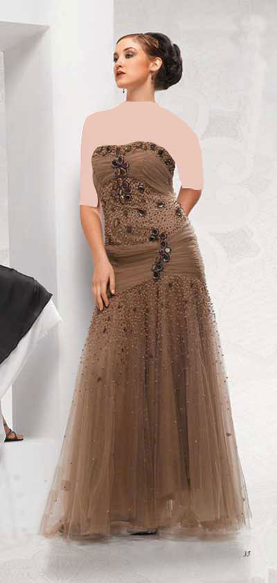 مدل لباس شب جدید 2013