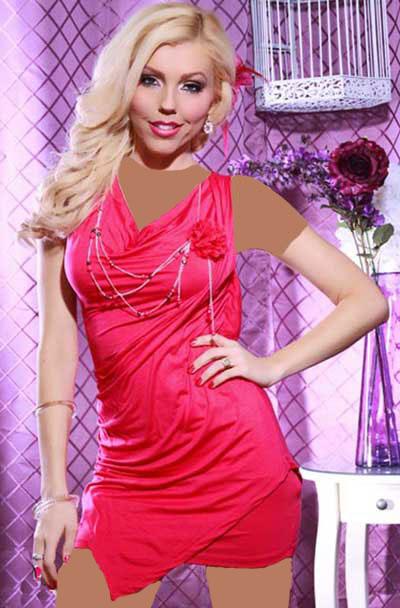 مدل لباس مجلسی کوتاه 2014