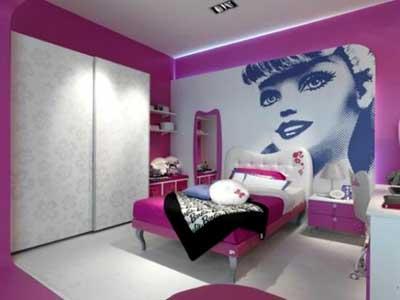 اتاق خواب دختر خانم,دکوراسیون اتاق خواب دختر,چیدمان اتاق خواب دخت