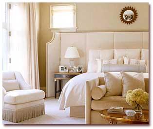 اتاق خواب های زیبا و شیک با رنگهای خنثی
