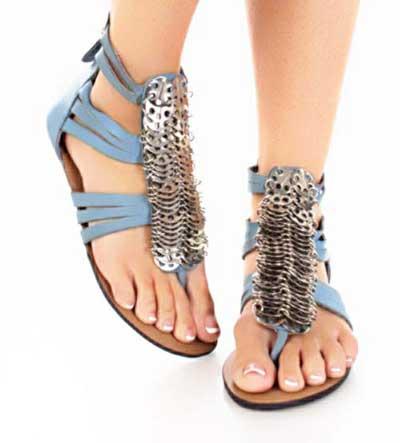 کفش تابستانه, مدل کفش