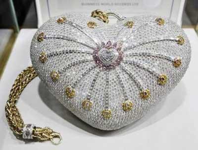 گرانترین  کیف دستی جهان , عکس گرانترین کیف دستی