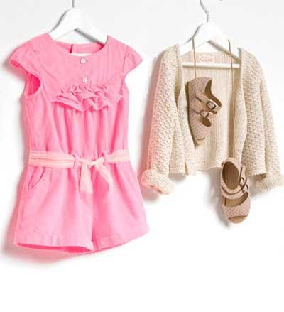 مدل لباس کودکان, مدل لباس از کمپانی زارا