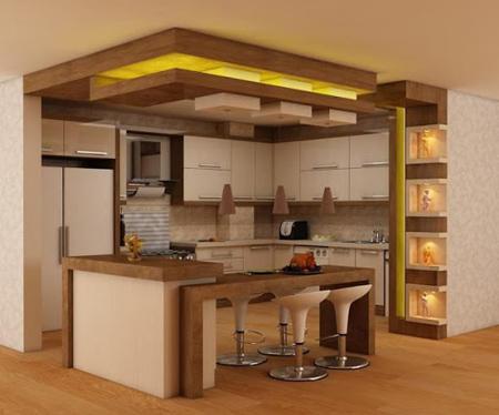 ایده هایی برای کابینت ام دی اف آشپزخانه,کابینت ام دی اف آشپزخانه