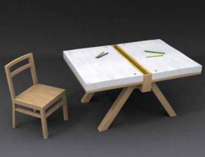 میز مطالعه دو نفره