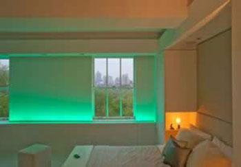 مزایای لامپ های led,دکوراسیون با لامپ های led