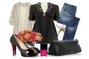 ست کردن لباس با شلوار جین