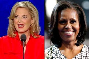 رقابت مد میان میشل اوباما و آن رامنی