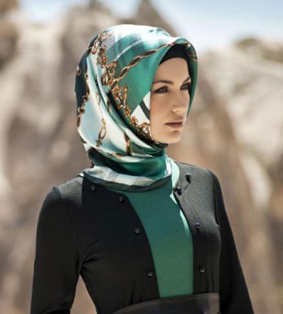 مدل قشنگ روسری مجلسی جدید