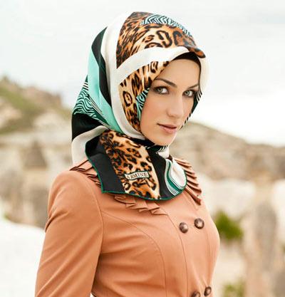 روسری مجلسی 92 , بستن روسری