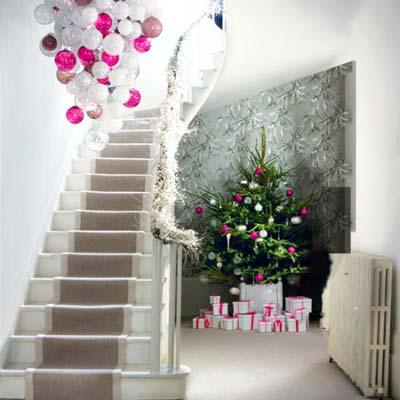 تزیین لوستر مخصوص کریسمس, ساخت لوستر