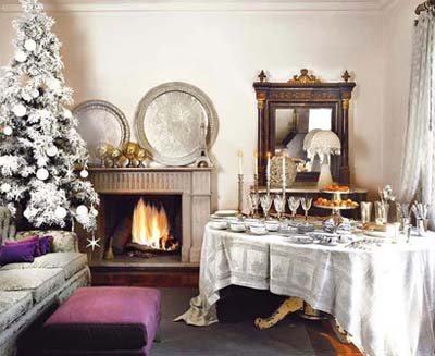 چیدمان میز کریسمس