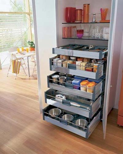 نمونه کشوهای کابینت , کشوهای کاربردی آشپزخانه
